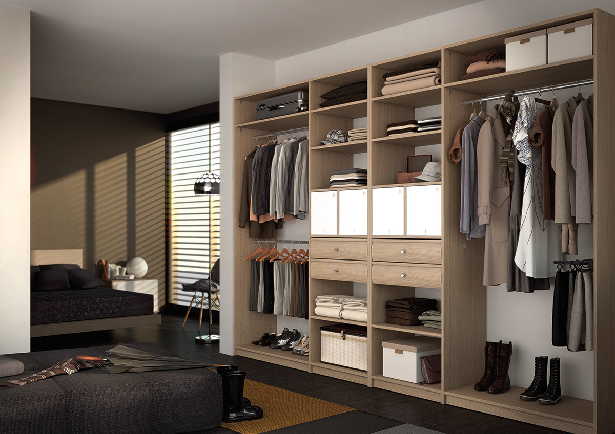 Forgiarini for Dressing design chambre