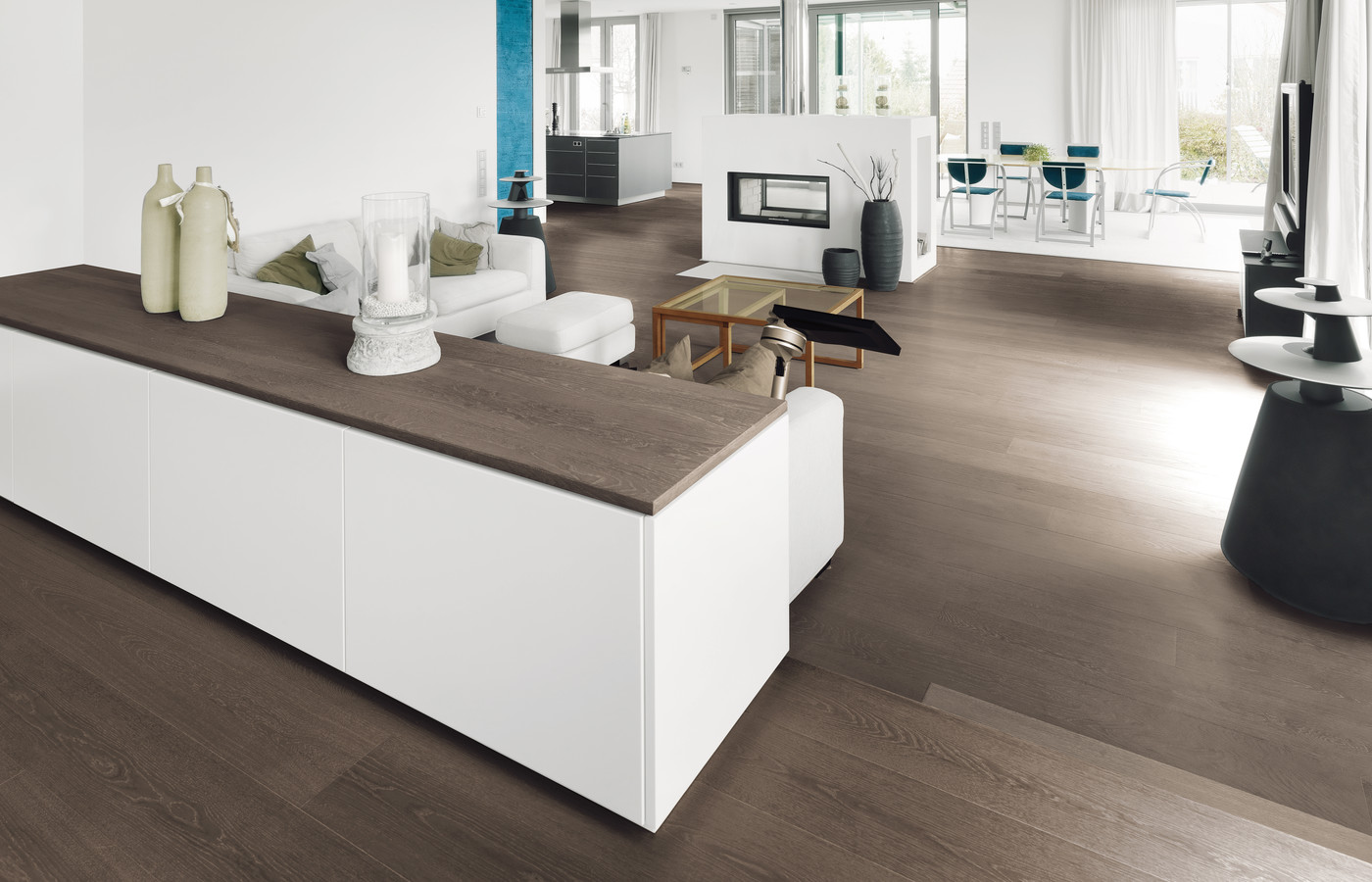 Parquet salon carrelage cuisine for Forgiarini carrelage