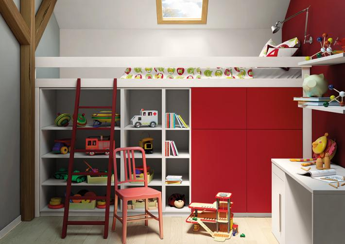Forgiarini for Agencement chambre enfant