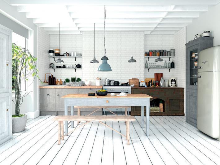 Carrelage mural blanc mat