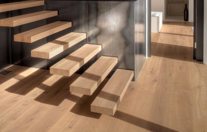 Escaliers et sols coordonnés