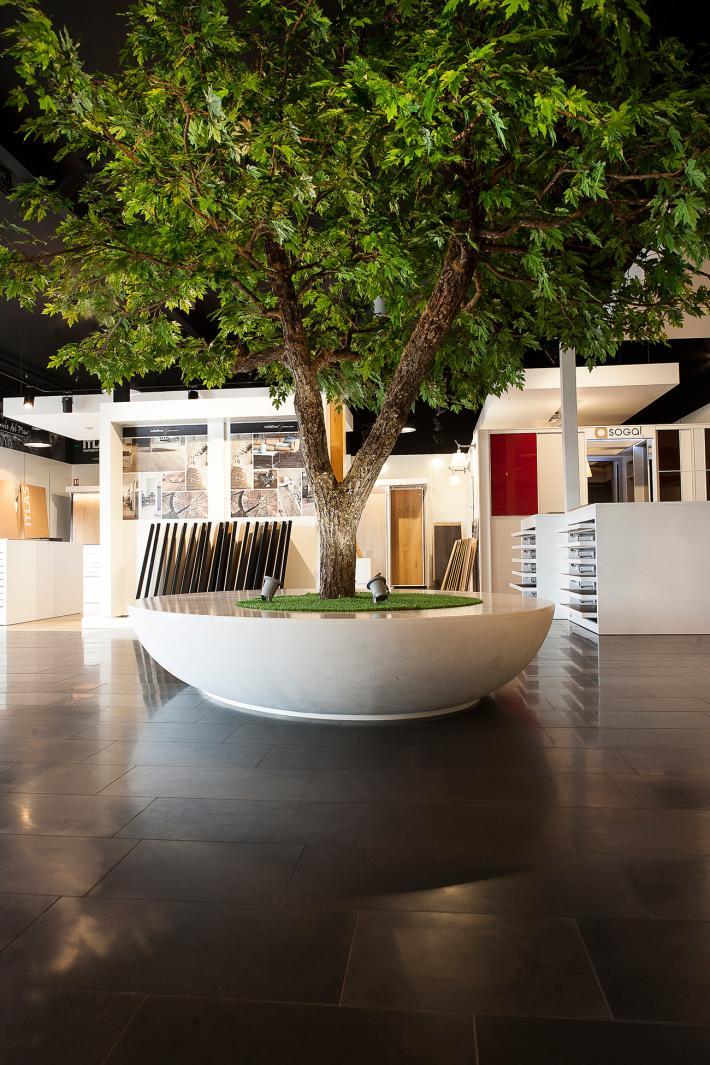 Un showroom nature